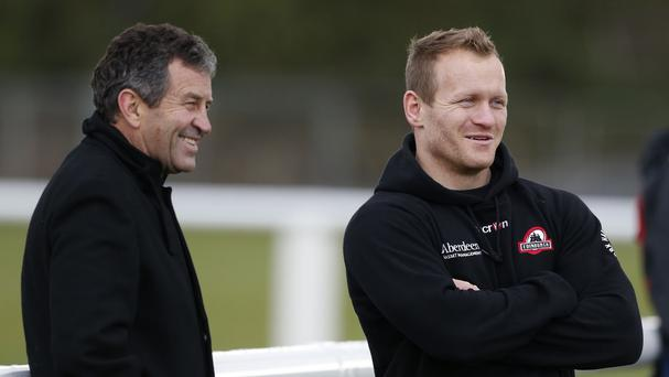 Wayne Smith, left, has been hailed for adding extra steel to the All Blacks' World Cup bid