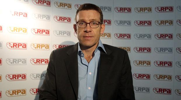 Rugby Players' Association chief executive Damian Hopley