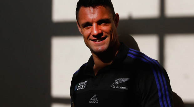 Out of the shadows: Dan Carter has battled back from injury to take centre stage for New Zealand