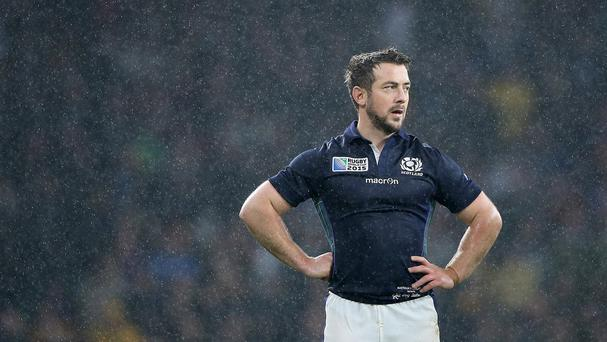 Scotland's Greig Laidlaw had an outstanding World Cup