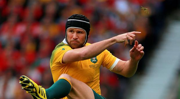 Matt Giteau has starred at centre for Australia