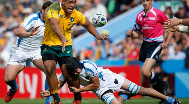 Big game player: Fit again prop Scott Sio returns for the Aussies' glory shot