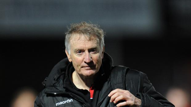 Alan Solomons is looking for better from Edinburgh
