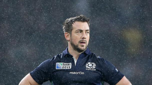 Scotland's Greig Laidlaw is on the short-list for rugby's top personal prize