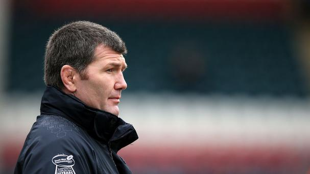 Exeter boss Rob Baxter saw his team win comfortably at Newcastle