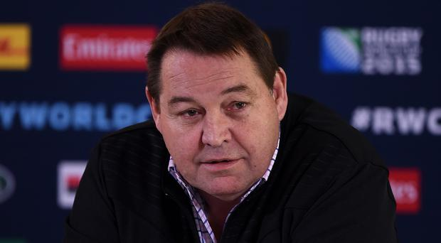 New Zealand head coach Steve Hansen remains coy about plans post-2017