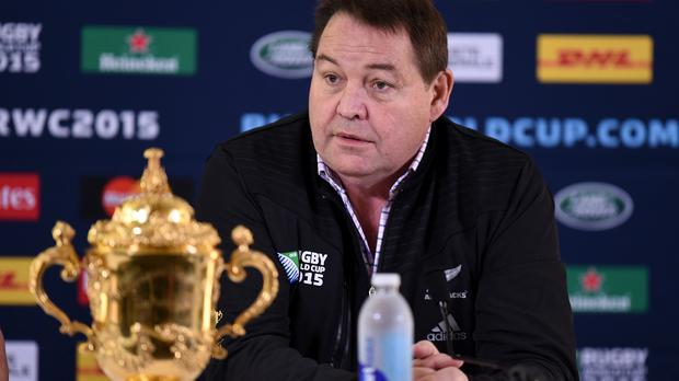 Steve Hansen's contract expires after the visit of the British and Irish Lions and Rugby Championship in 2017