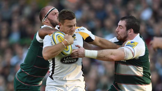 Wasps' Jimmy Gopperth, centre, will face RFU disciplinary panel