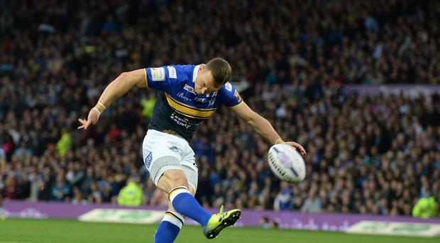 Kevin Sinfield is looking to make his mark in rugby union with Yorkshire Carnegie