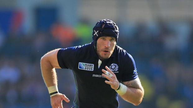 Scotland's Alasdair Strokosch has announced his retirement from international rugby