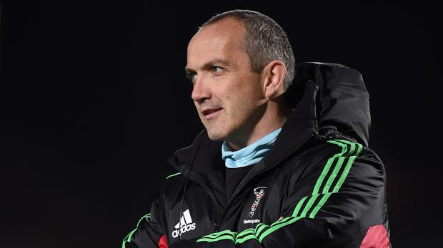 Harlequins director of rugby Conor O'Shea believes attacking teams should be shown greater encouragement by referees