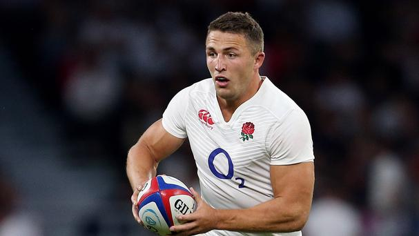Sam Burgess was fast-tracked into the England set-up