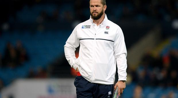 Andy Farrell, now a member of England's coaching staff, also flopped after switching codes