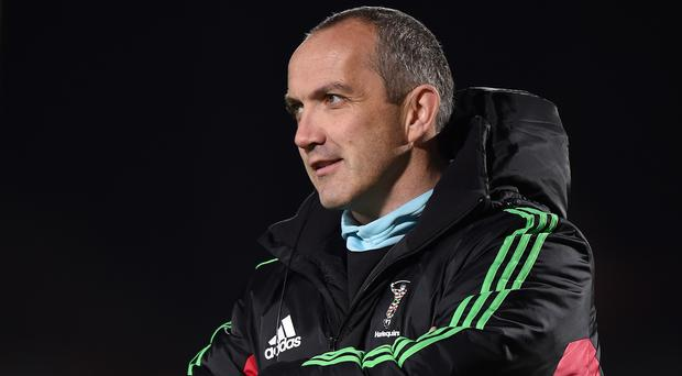 Despite Harlequins' win, Conor O'Shea was left wanting more