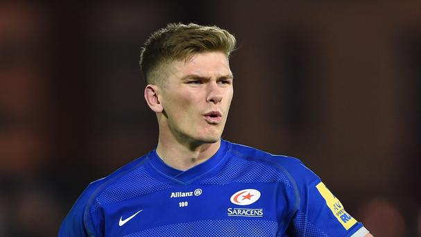 Owen Farrell kicked four penalties for Saracens