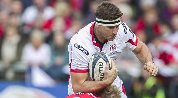 Paul Marshall scored the only try of the game in Ulster's victory at Newport