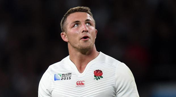 Sam Burgess said he had left rugby union because his heart wasn't in it