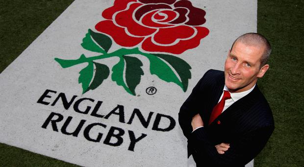 End of the line: Stuart Lancaster agreed to step down as England coach after their World Cup failure