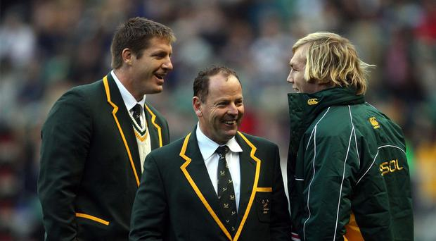 South African Jake White (centre) is currently the bookmakers' favourite to become England's next head coach