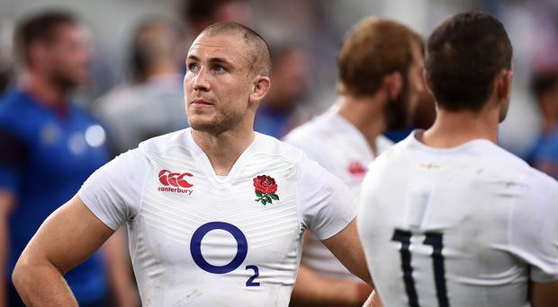 Mike Brown, pictured, has been backed for his candid reaction to a series of leaks from England's World Cup camp