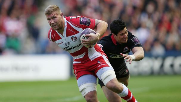 Wales international back-row forward Ross Moriarty will line up for Gloucester in Saturday's European Challenge Cup game against Zebre
