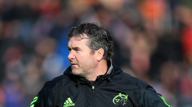 Munster head coach Anthony Foley saw his side beat Treviso