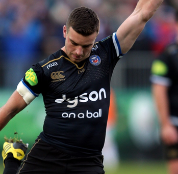 Bath's George Ford showed international kicking class