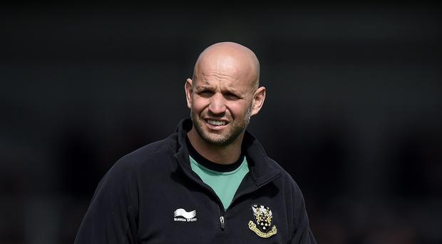 Jim Mallinder was pleased with Northampton's defensive display in Glasgow
