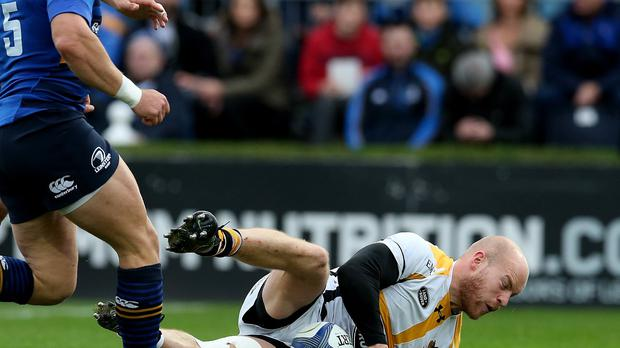 Wasps' Joe Simpson was singled out for praise for his performance in the win over Toulon