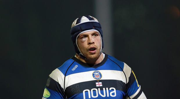 Bath's England second-row forward Dave Attwood has signed a new three-year deal at the Aviva Premiership club.