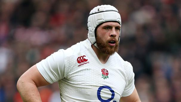 Bath lock Dave Attwood was among the players who missed out on selection for England's World Cup squad