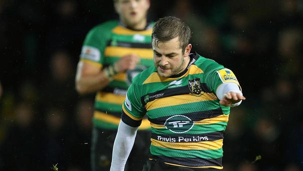 Stephen Myler kicked five penalties as Northampton overcame Gloucester
