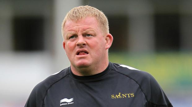 Dorian West hailed the impact of Northampton's scrum