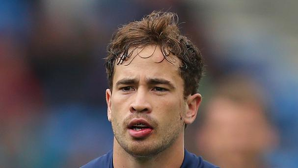 Danny Cipriani missed a late penalty when kicking for victory