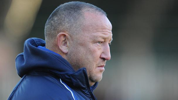 Steve Diamond was riled by Sale's performance against Newcastle