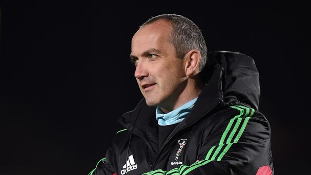 Harlequins rugby director Conor O'Shea, pictured, has lavished praise on England captain Chris Robshaw