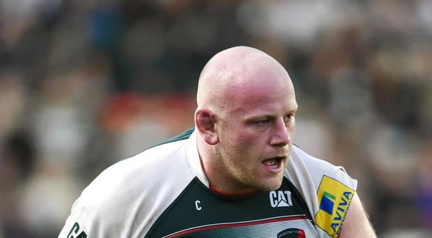 Dan Cole scored a crucial try for Leicester