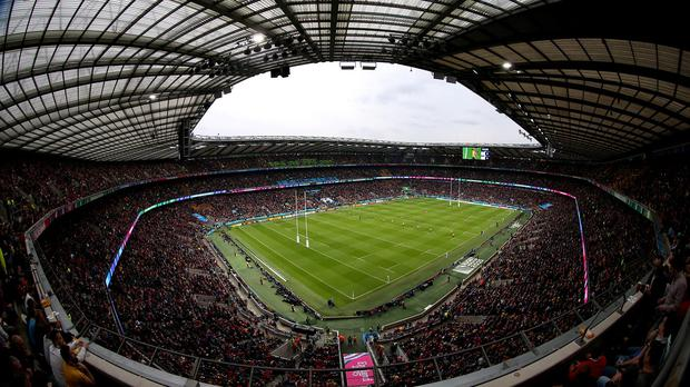 Twickenham, the home of the Rugby Football Union