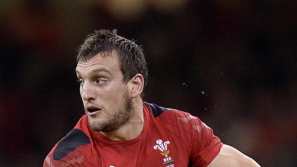 Wales captain Sam Warburton has been ruled out for four weeks with an ankle injury.