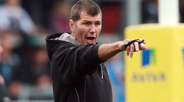 Exeter head coach Rob Baxter is braced for a tough test in Saturday's Aviva Premiership clash against Wasps