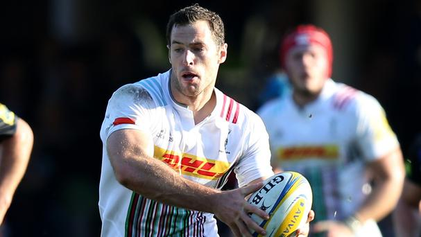 Tim Visser stole the show for Harlequins against London Irish