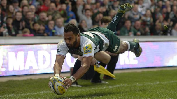 Telusa Veainu scored a vital try for Leicester