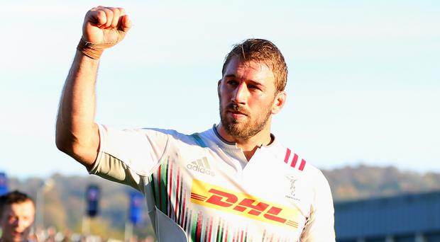 Chris Robshaw has been backed to stay on as England skipper by Danny Care