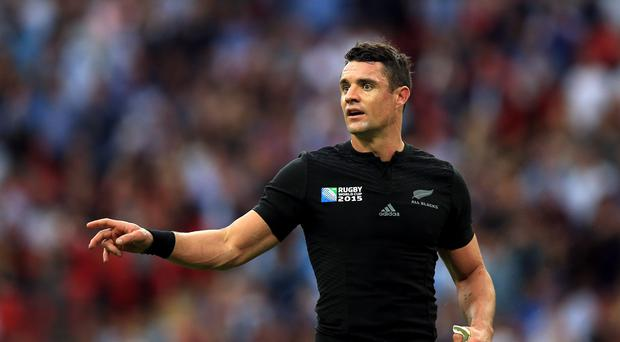 New Zealand World Cup winner Dan Carter will make his Racing 92 debut against Northampton on Saturday