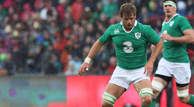 Ireland international Chris Henry scored Ulster's fifth and final try