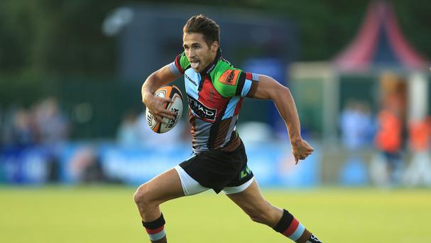 Jack Clifford went in for one of Harlequins' tries