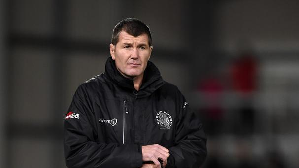 Rob Baxter insists it is up to Exeter to keep themselves at the top of Pool 2