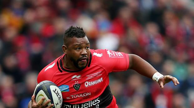 Toulon's Steffon Armitage scored two tries in the defeat of Leinster.