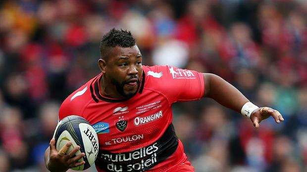 Steffon Armitage scored two tries for Toulon against Leinster