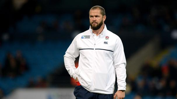 Andy Farrell, pictured, Graham Rowntree and Mike Catt are losing their roles as assistant coaches with England.